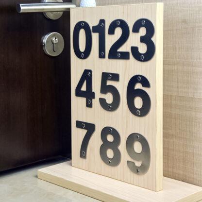 klein huisnummer