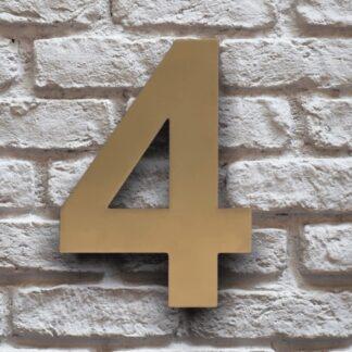 huisnummer 4 goud