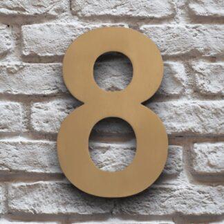 huisnummer 8 goud