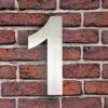huisnummer 1 rvs roestvast staal goedkoop
