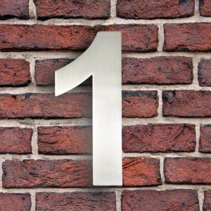 huisnummer 1 rvs
