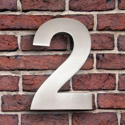 huisnummer 2 rvs