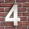 huisnummer 4 rvs roestvast staal goedkoop