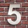 huisnummer 5 rvs roestvast staal goedkoop