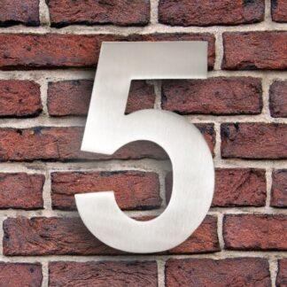 huisnummer 5 rvs