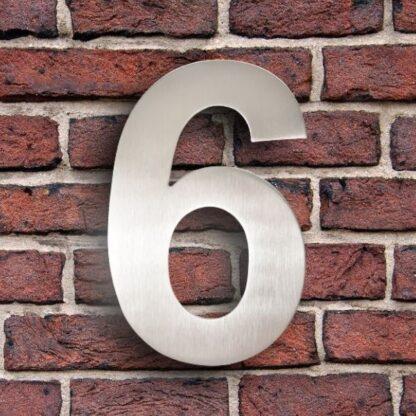 huisnummer 6 rvs