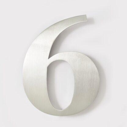 huisnummer 6 rvs georgia