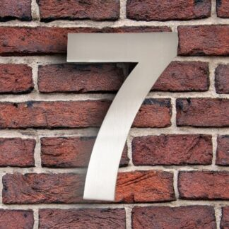 huisnummer 7 rvs roestvast staal goedkoop