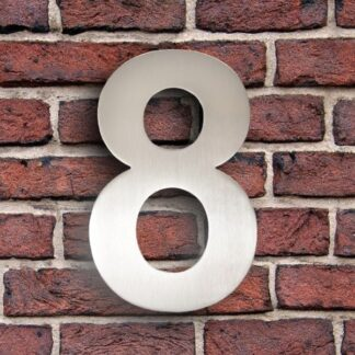 huisnummer 8 rvs