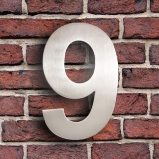 huisnummer 9 rvs