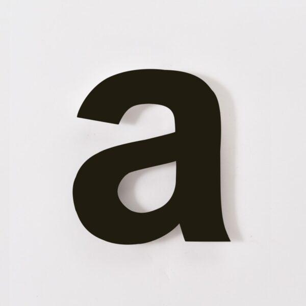 huisletter a arial zwart (2)