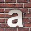 huisnummer toevoeging a rvs arial