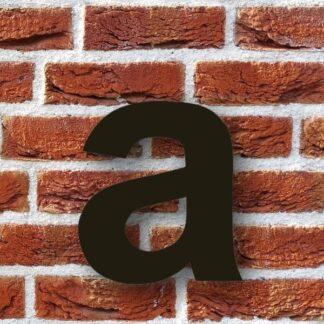 huisletter a zwart - huisnummer a