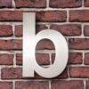 huisnummer b rvs huisletter toevoeging