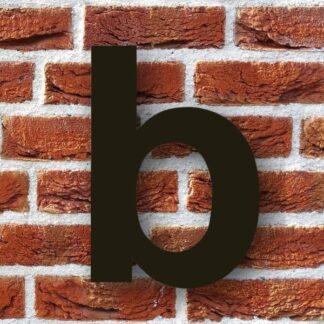 huisletter b zwart - huisnummer b