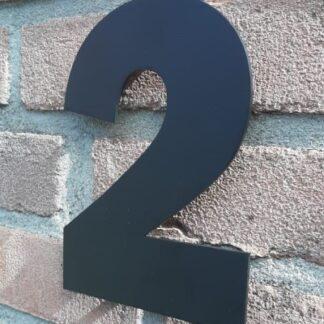 Huisnummers Zwart 15 cm Franklin